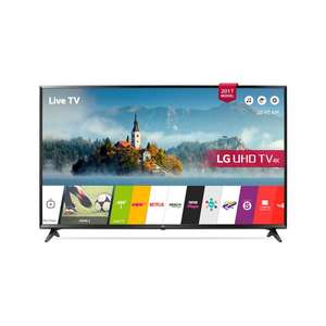 FREESAT LG 55UJ630V- 55inch 4K UltraHD HDR Smart LED TV @ Coop £499 d