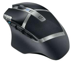 Logitech G602 Wireless Gaming Mouse - Black £34.99 @ Amazon