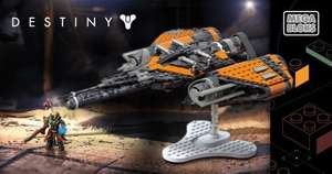 Mega Bloks Destiny Arcadia jumpship £5.99 @ Home Bargains