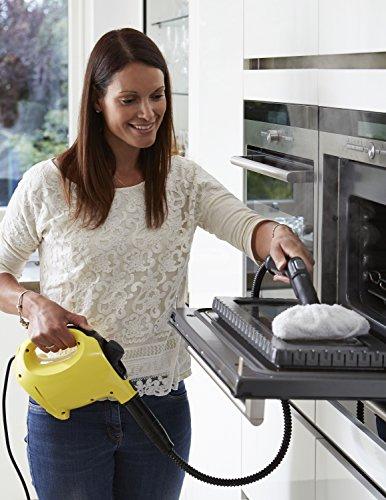 Kärcher SC1 Premium Steam Cleaner, Handheld and Steam Mop In One - Yellow £49.99 @ Amazon