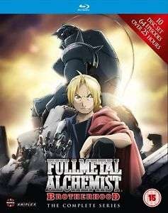 Fullmetal Alchemist Brotherhood - Complete Series Boxset (Eps 1-64) (Blu-Ray) £29.99 @ Ebay Entertainment Store