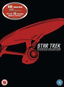 Star Trek: Stardate Collection £12.02 for movies 1-10 on DVD (or £25 for Blu-Ray) @ Amazon