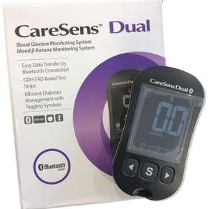 FREE CareSens Dual blood monitor! Great for diabetics and keto dieters