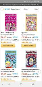 Three selected paperbacks for £10 Del @ Amazon