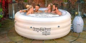 Lay Z Spa Vegas £319.99 @ DrinkStuff - Free delivery