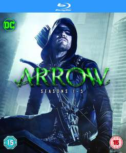 Arrow: S1-5 (BD/S) [Blu-ray] [2017] £35.99 @ Amazon - Free delivery