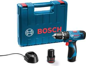 Bosch Pro GSB 1080-2-LI with 2 x 1.5 Ah Batteries, Charger and Carry Case £59.99 from Amazon