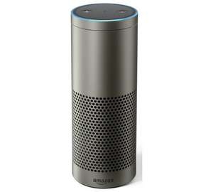 Amazon Echo Plus - Black/White/Silver £109.99  + free Philips Hue 9.5W LED White Wireless E27 Light Bulb @ Argos (also on Argos eBay)