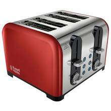 Russell Hobbs 22405 Westminster 4 Slice Toaster now £19.99 @ Argos (Black/Cream/Red)
