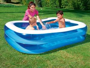 Bestway Rectangular Inflatable Family Pool - 79 inch, Blue - £5.77 (Prime) £10.52 (Non Prime) @ Amazon