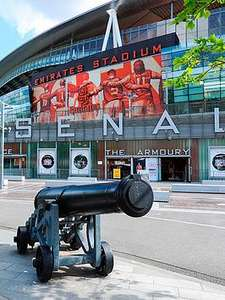 Arsenal Family Stadium Tour. What better way to celebrate victory in the North London Derby - £25 (free C+C) @ Very