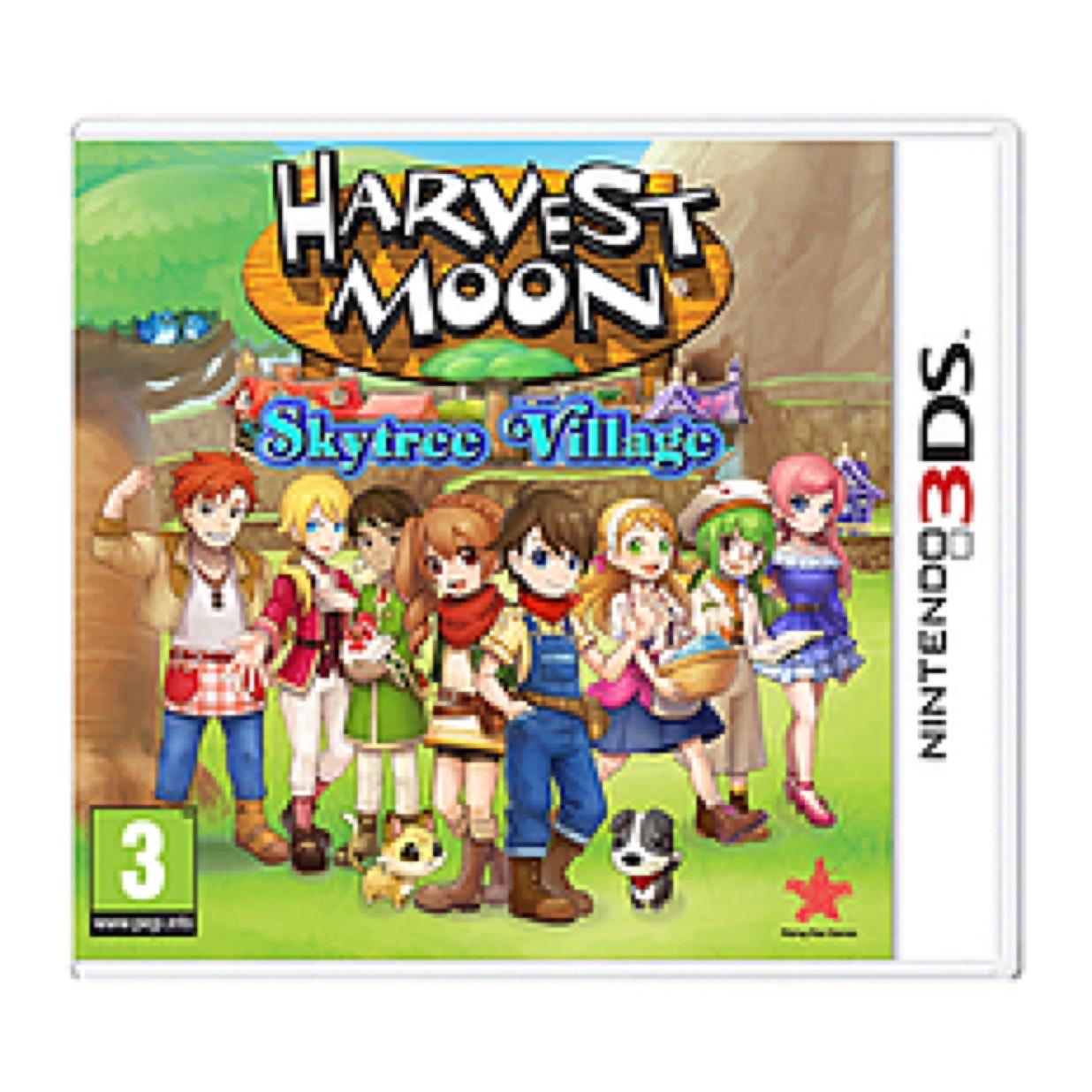 Harvest Moon Skytree Village (3DS) £14.99 delivered @ GAME