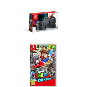 Grey Nintendo Switch + Super Mario Odyssey - £309.99 @ Amazon