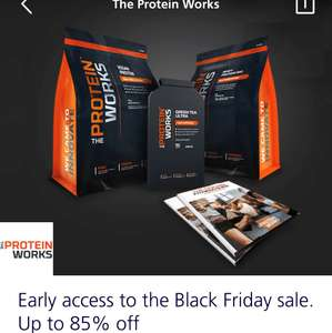 The Protein Works O2 Priority Discounts (Stackable with Black Friday Offers)