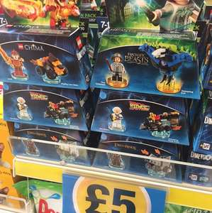 Lego dimensions fun packs £5 instore @ Poundland!!