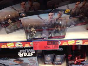 Disney Infinity 3.0 Star Wars The Force Awakens play set Rey and Finn £1 instore at B&M Kettering