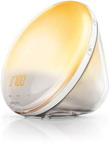 Philips wake up light - £140 (£44 less poss Quidco 13%)