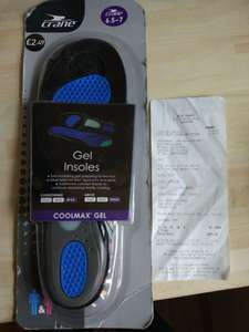 Aldi gel insoles scanning at 99p