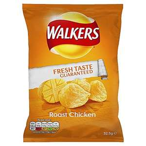walkers roast chicken crisps at Amazon for £6.93 Prime (or £10.92 non-Prime)