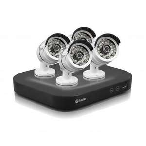 CCTV - Swann DVR8-4750 8 Channel 3 Megapixel HD Digital Video Recorder With 4 X PRO-T858 3MP Cameras & 2TB Hard Drive (SWDVK-847504-UK) @ DEBENHAMSPLUS for £310
