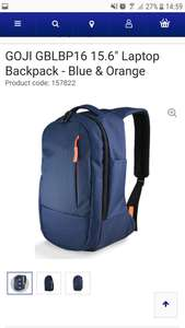 GOJI 15.6 Laptop Backpack at Currys for £5.97