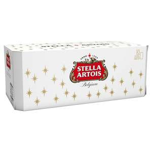 Stella Artois Lager 18 x 440ml £10 @Asda Online and In store.
