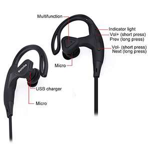 Bluetooth Earphones £2.99 (Prime (£5.98 non-Prime) Sold by SunvitoDirect and Fulfilled by Amazon
