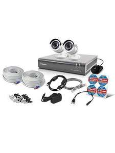 Swann 4 Channel 2 Camera 1080P CCTV Kit Was £299.99 Now £179.99 Save £120.00 @ Very