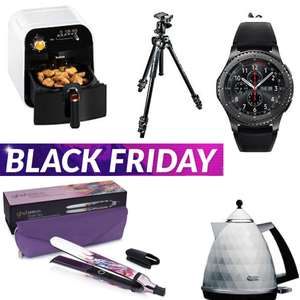 New Very Black Friday Offers LIVE - Vax Blade 32V TBT3V1B1 £139 / Tefal Fry Delight Health Fryer £59.99 / GHD Platinum Tropic Sky Styler £120 / Manfrotto 290 Light Tripod With 496RC2 Ball Head £79.99 (See OP)