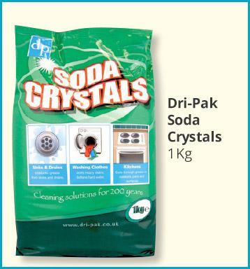 Dri-Pak Soda Crystals (1 kg) ONLY 62p @ Savers