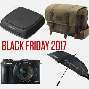 Canon Black Friday Sale - 30-40% off ALL merch / Canon CS100 1TB Store & Share station £23.98 delivered and more in OP
