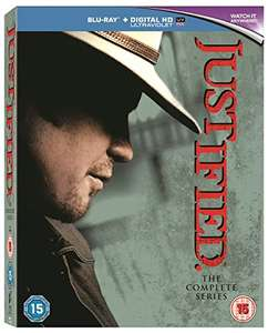 Justified: The Complete Series Blu-Ray [Region Free] £25.91 @ Amazon