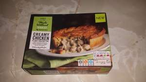 Marks and Spencer's wheat&gluten-free creamy chicken flaky pie 480g - £3 instore (Exeter)