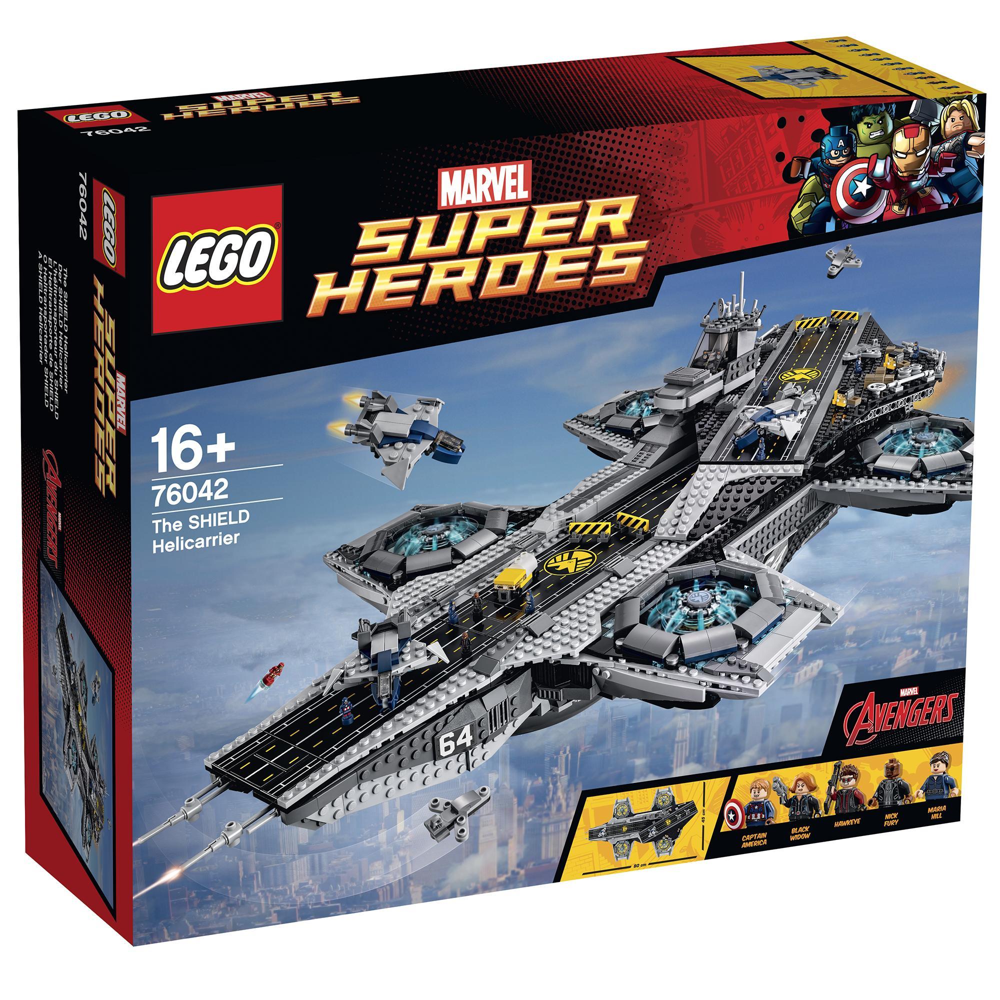 LEGO Marvel The Shield Helicarrier 76042 £224 (RRP £279.99) @ Hamleys
