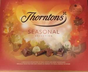 Free chocolate when spending £20 @ Thorntons
