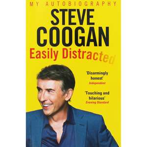 Steve Coogan - Easily Distracted (Autobiography) only £2.40 with code @ The Works (Free C&C)
