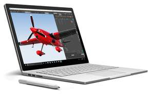 "Microsoft Surface Book Ecran Tactile 13,5"" (Intel Core i5 Skylake, 8 Go de RAM, SSD 256 Go, Nvidia Geforce, Windows 10) at Amazon France £1293"