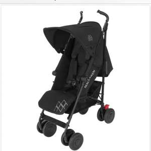 Maclaren Pushchair Techno XT - Black/Black £149 @ Winstanleys