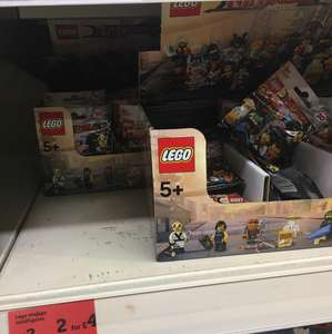 Lego ninjago minifigure offer in Sainsbury's 2 for £4