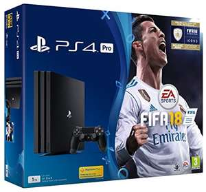 PS4 PRO + FIFA 18 + Call of Duty £299.99 @ Amazon