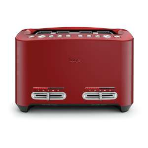 Sage Heston Blumenthal Smart 4 Slice Toaster with 2000W Power in Red only £64.99 @ HUGHES