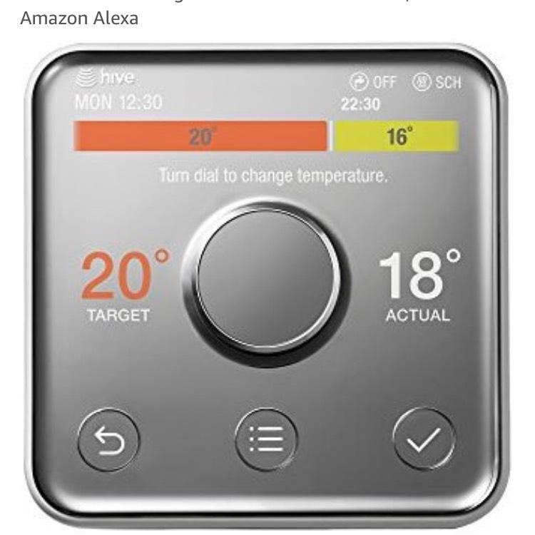 Hive self install £119.99 at Amazon