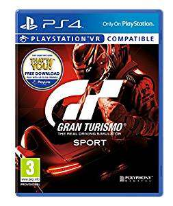 Gran Turismo Sport (PS4 - Used Very Good) £26.31 (Like New £26.87) @ Amazon Warehouse