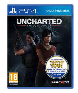 Uncharted: The Lost Legacy PS4 (Used - Very Good) £15.03 (+£1.99 non prime) with the 20% off Amazon Warehouse deal