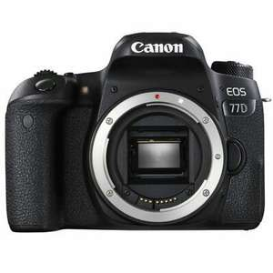 Canon EOS 77D Digital SLR Camera Body £614 @wexphoto including voucher code + £85 cashback available