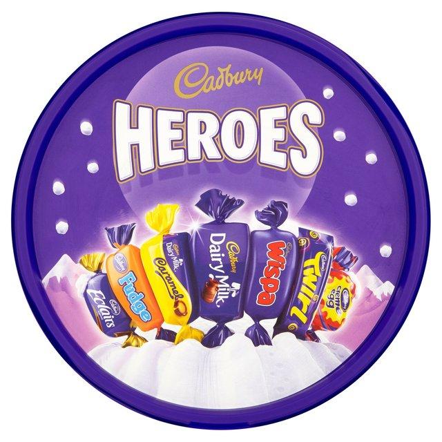 Cadbury Heroes Tub 660g - Quality Street Tub 750g - Roses Tub 660g -  £3.50 @ Morrisons (online and instore)