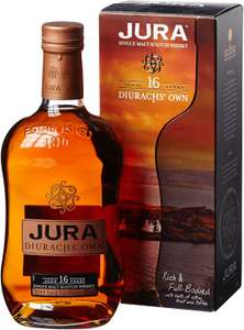Jura Diurach's Own 16 Year Old Scotch Whisky, 70 cl - £30.80 Amazon Black Friday daily deal. Other Jura deals too.
