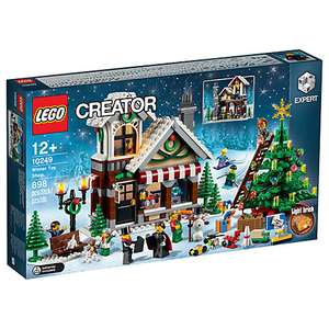 LEGO Creator Winter Toy Shop - £55.24 @ John Lewis. Sold out online at the Lego shop