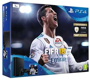 Playstation 4 1tb slim console with fifa 18 used like new £199.57 Amazon warehouse