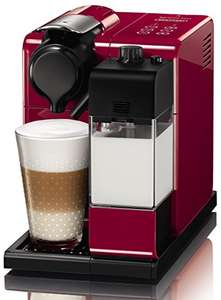Nespresso EN550.R Lattissima Touch Automatic Coffee Machine, Glam Red / Black or White - was £179 now £119 @ Amazon
